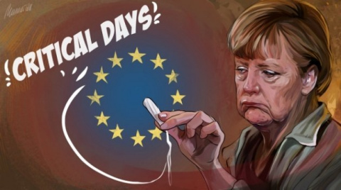 Меркель загнали в угол: как …
