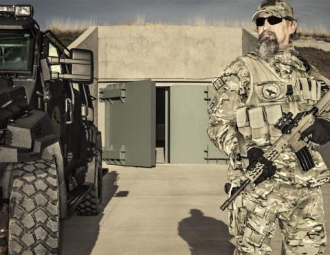 Бункеры, оружие, убежища: Ка…