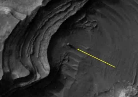 На поверхности Марса снова нашли рукотворные сооружения