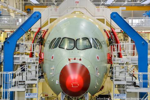 Как делают Airbus