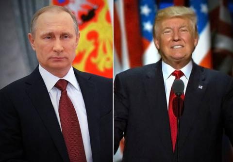 Встреча Трампа и Путина.