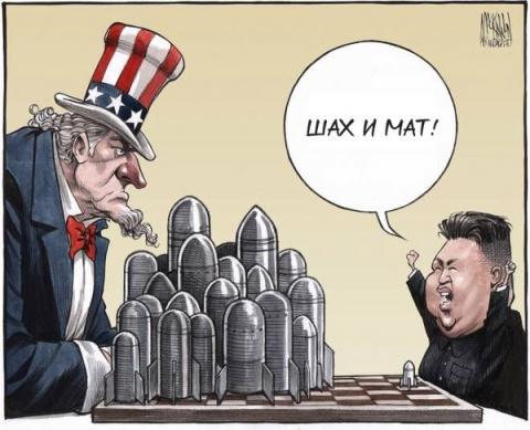 """Северная Корея:   """"СУМАСШЕДШИЕ ШТАТЫ АМЕРИКИ"""""""