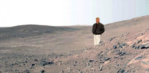 NASA: На Марсе не было никак…