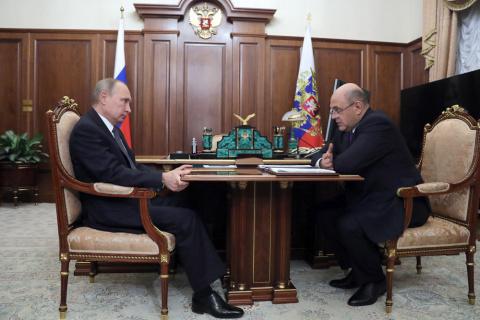 """Путин проверил ход """"кассовой…"""