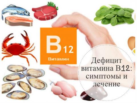 Дефицит B12 — основная причи…