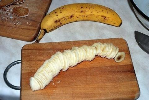 Банановый торт на скорую руку