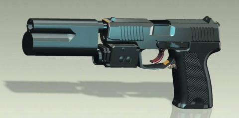 Перспективный пистолет ОЦ-122