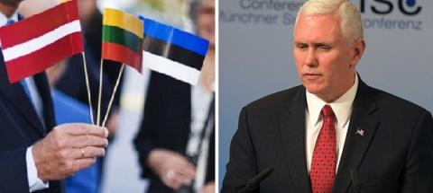 США оптом приняли глав Прибалтики