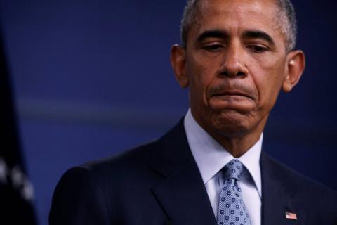 С Барака Обамы чуть не сняли штаны