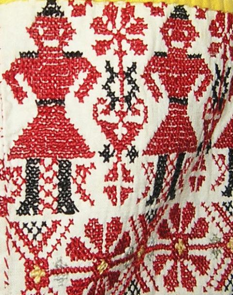 Фото вышивки крестом с