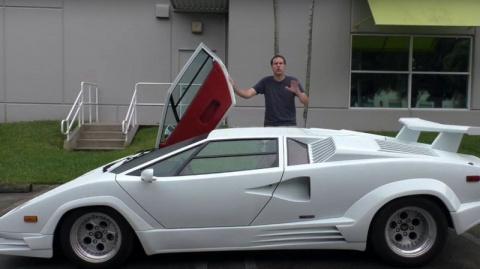 Мечта детства: Lamborghini Countach в деталях
