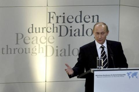 Президент России не намерен участвовать в Мюнхенской конференции