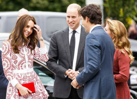 Самый красивый политик Канады очаровывает вообще всех — от Иванки Трамп до британской королевы