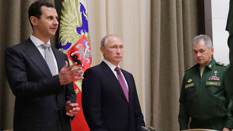 Россия заходит, США выходят