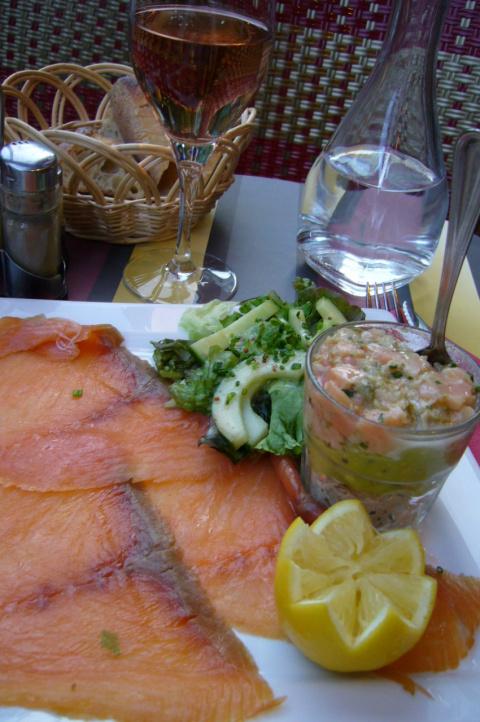 Что мы поели во Франции