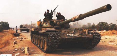 Танки «Аль-Каиды» концентрир…