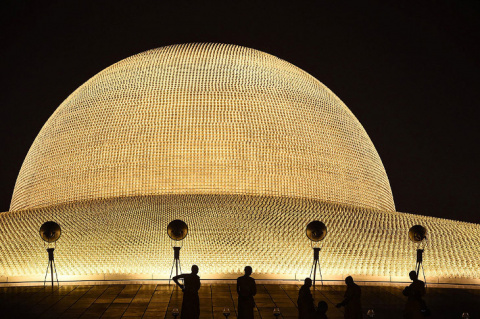 Космический храм Таиланда Ва…
