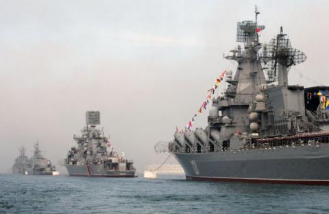 Россия не отдаст НАТО моря, …