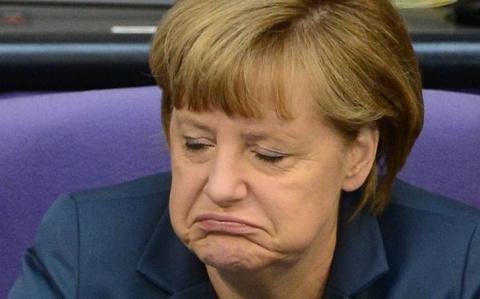 Ангела Меркель сдалась в Сочи