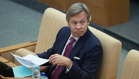 "Пушков: криками ""Позор!"" и ""Брехло!"" подведен итог президентства Порошенко"