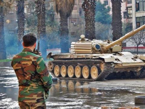 Танк Т-72М1 выдержал прямое …