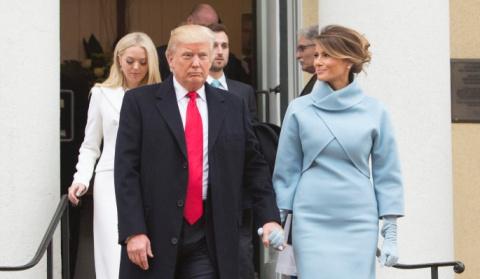 Стильная Меланья Трамп восхи…