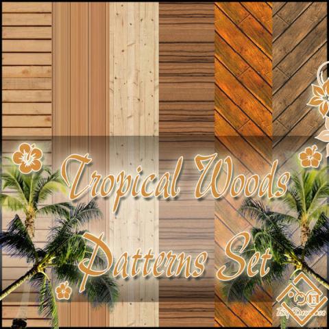 Текстуры дерева от Devirose