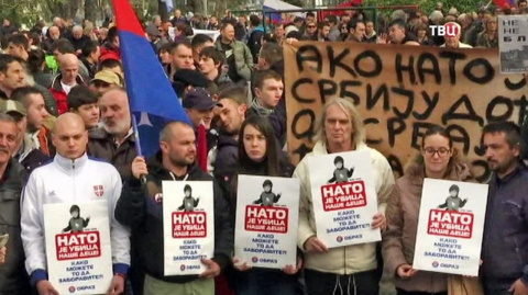 Сербии не надо вступать в НАТО — НАТО и так уже в Сербии