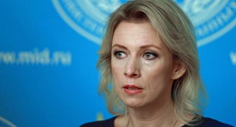 Мария Захарова не сдержала э…