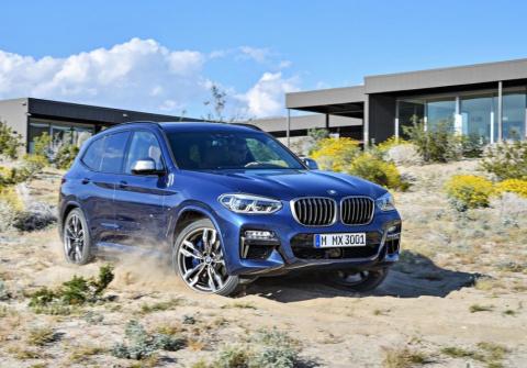 У BMW X3 появились ключ с ди…