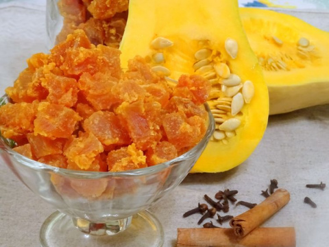 Цукаты из тыквы - волшебный вкус
