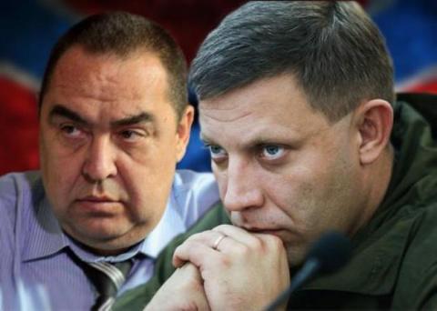 Захарченко и Плотницкий в Кр…