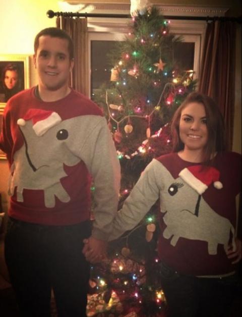 Смешные и нелепые рождествен…