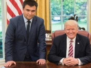 Встреча Климкина и Трампа ок…