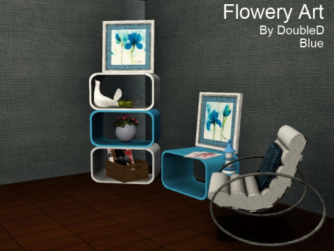 Flowery Art Frames by Doubled