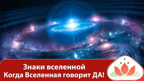 Ваш договор со Вселенной: следуйте знакам на пути