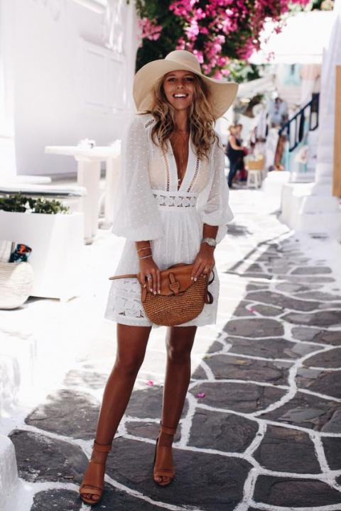 Как одеться в жару: 6 идей для городского летнего гардероба