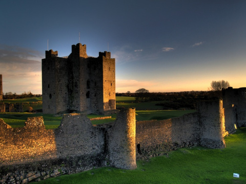 Замок Трим, Ирландия (Baile Atha Troim)