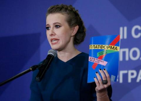 Иносми. Ксения Собчак бросает вызов Путину
