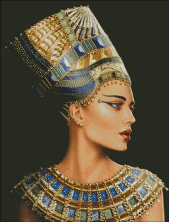Фото схемки Нефертити в РМ