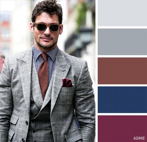 18 идеальных цветовых сочетаний в одежде для мужчин
