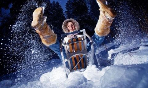 Веселые зимние кадры (39 фото)