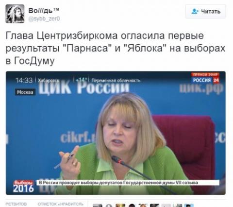 Соц.сети о креаклах, либералах и прочей шелупени в свете выборов