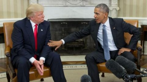 Трамп: Обама оставил после себя беспорядок