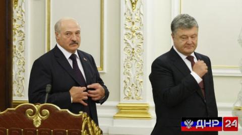 Лукашенко обвинил Порошенко в нарушении договорённостей по делу Шаройко
