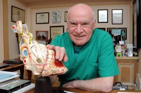 Великий российский кардиохирург Лео Бокерия сегодня отмечает 77-и летие