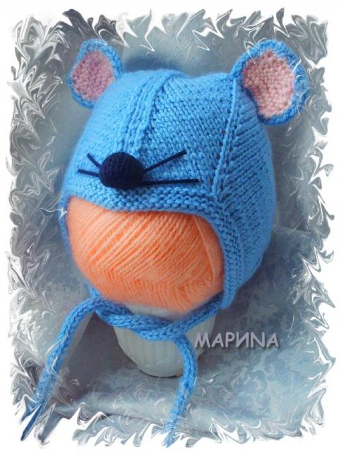шапка-мышка