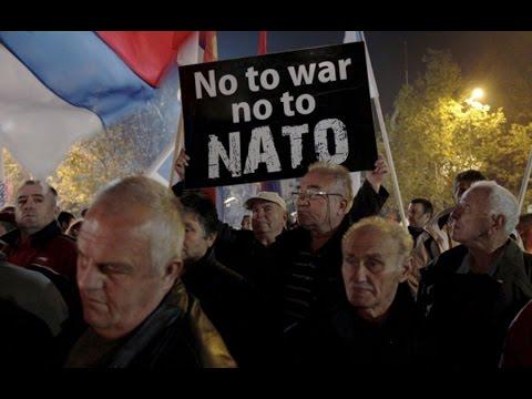 Черногория: протесты во время голосования Парламента о вступлении в НАТО – прямая трансляция