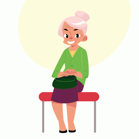 Бабушка постоянно угощала знакомого орехами…