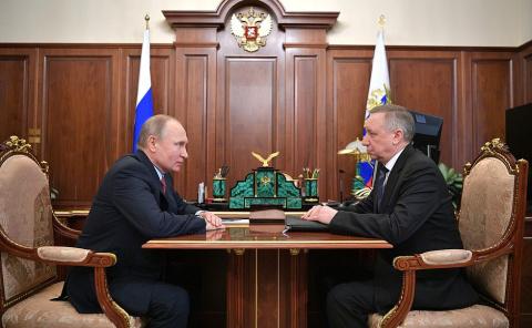 Встреча с полпредом Президента в СЗФО Александром Бегловым